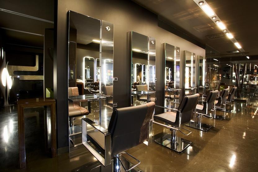 X look hairdressers udine perusko architects - Interior design udine ...